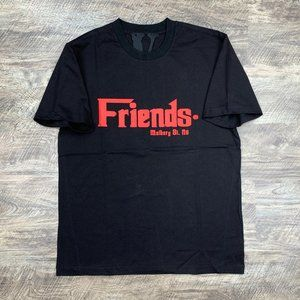 Vlone Friends Godfather Mulberry St. Red Black Tee